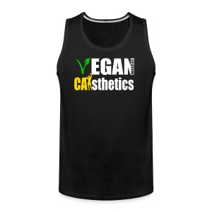 Men's Vegan Muscle Tank - Men's Premium Tank