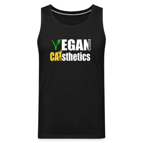 Men's Vegan Muscle Tank - Men's Premium Tank