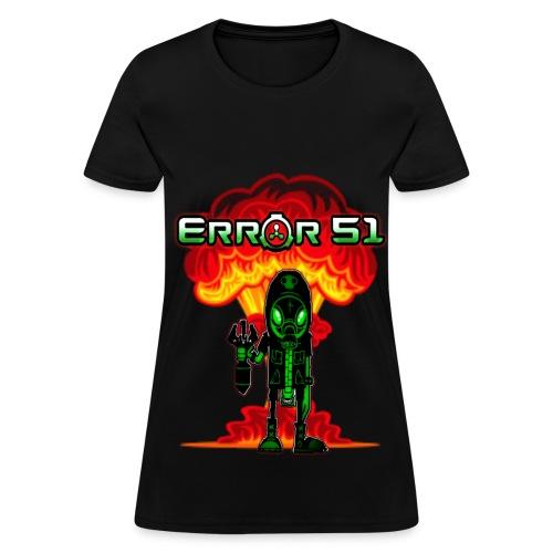 Error 51 Womens T-Shirt - Women's T-Shirt