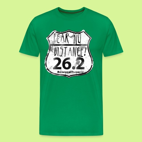 Fear no distance mens tee shirt - Men's Premium T-Shirt