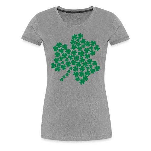 Shamrock of Shamrocks - Heather, Women's - Women's Premium T-Shirt