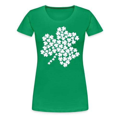 Women's Shamrock of Shamrocks - Green - Women's Premium T-Shirt