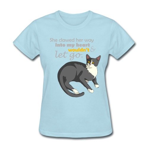 She Claw into Your Heart - Women's T-Shirt