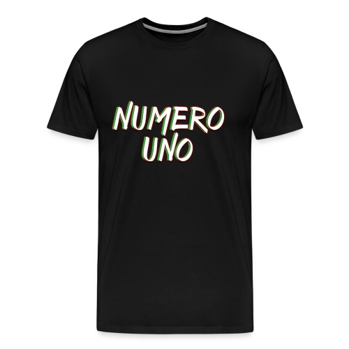 Numero Uno Retro Shirt (Mens) - Men's Premium T-Shirt
