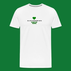 In a Relationship with Houston NORML - Men's Premium T-Shirt