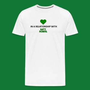 In a Relationship with Katy NORML - Men's Premium T-Shirt