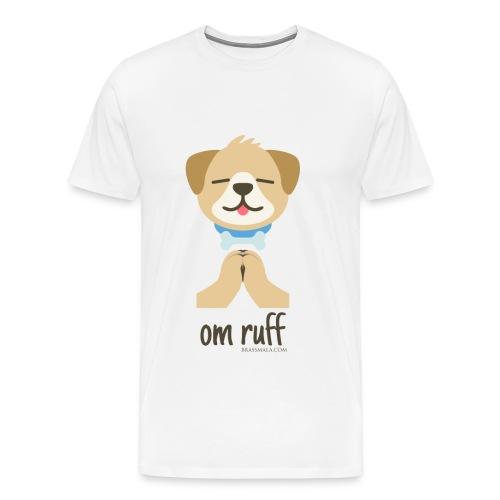 Om Ruff - Dog - Men's Premium T-Shirt