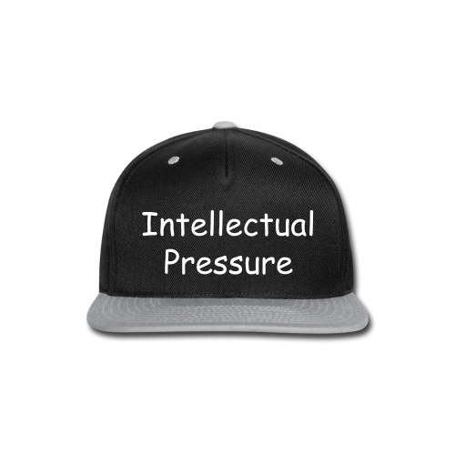 Snapback Intellectual Pressure Hat - Snap-back Baseball Cap