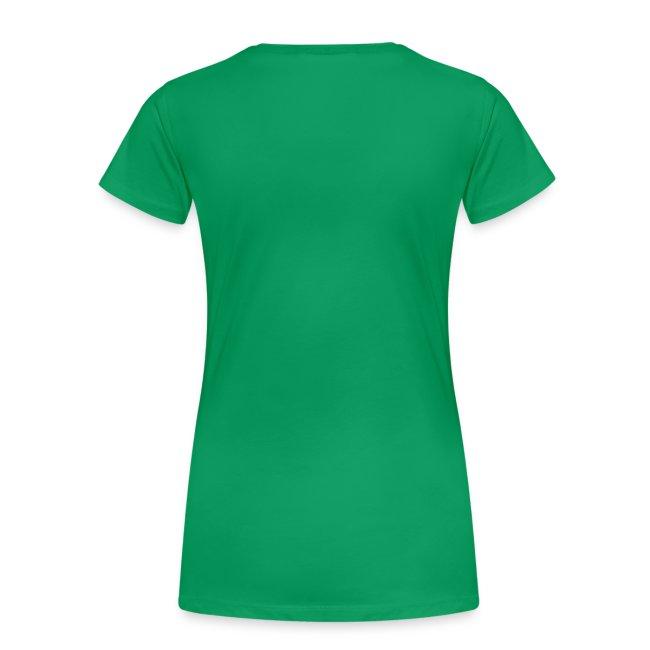 Women's Shamrock Scull - Green