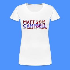 Matt Campbell 2016 (Women's Cut) - Women's Premium T-Shirt