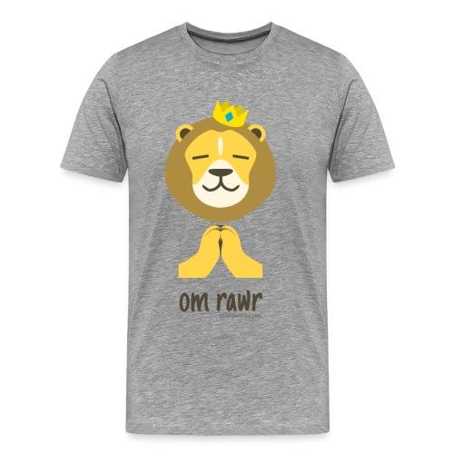 Om Rawr - Lion - Men's Premium T-Shirt