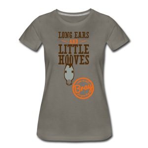 Women's Clay Donkey T - Women's Premium T-Shirt