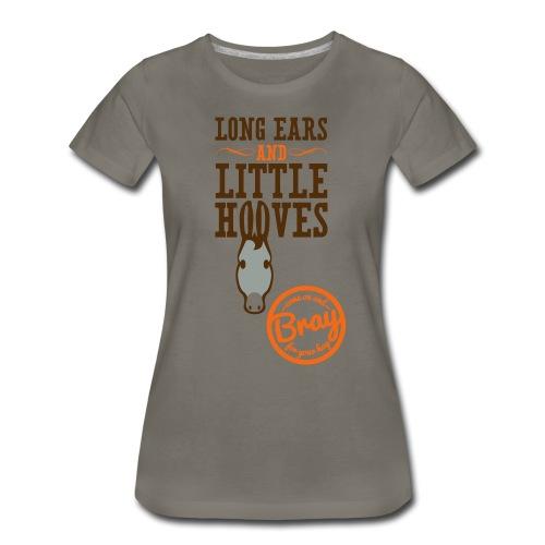 Women's Clay Donkey T - Women's Premium T-Shirt