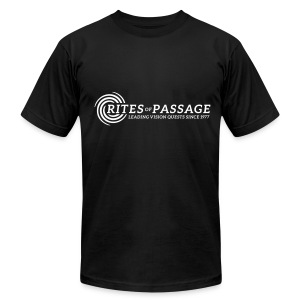 Men's T-shirt Black - Men's T-Shirt by American Apparel