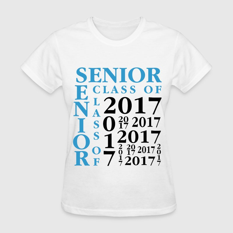 Senior Class Of 2017 Women's T-Shirts - Women's T-Shirt