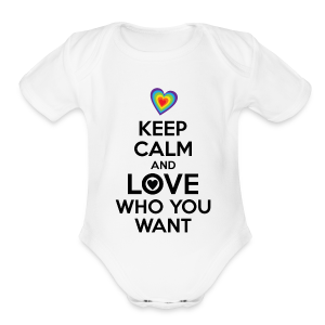 Keep calm and love who you want LGBT