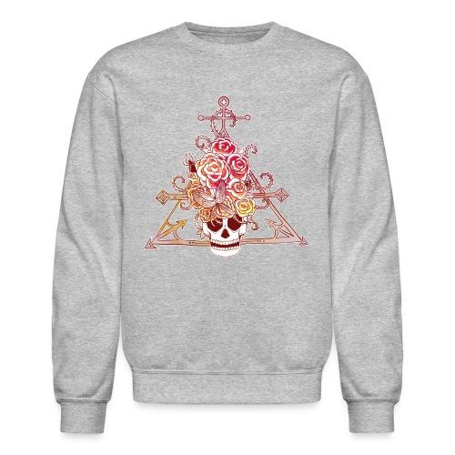 Love Triangle Long Sleeve Shirts - Crewneck Sweatshirt
