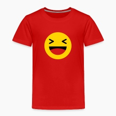 Haha funny emoticon Facebook Baby & Toddler Shirts