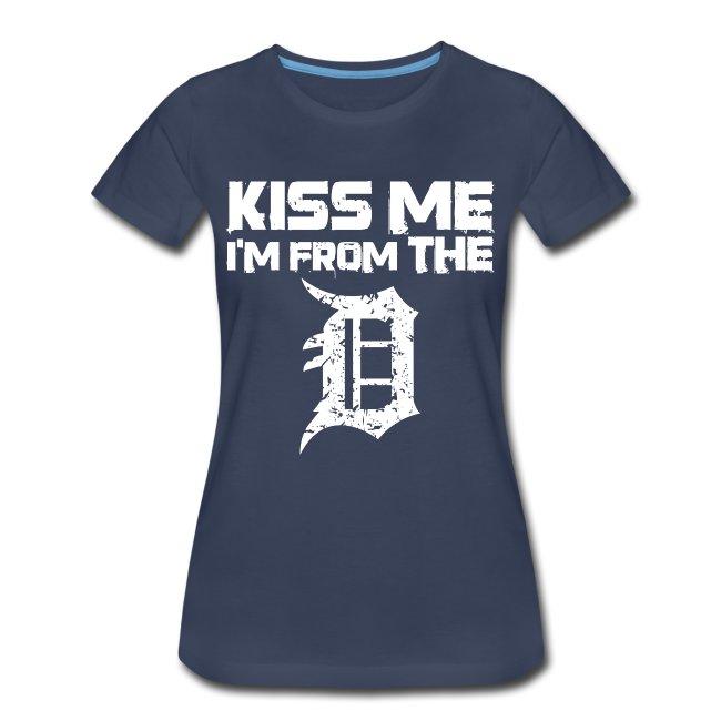 Women's Detroit Kiss Me D - Heather