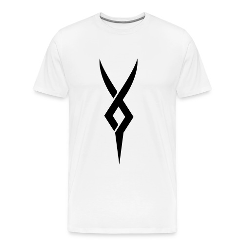 YLLiBz Men Black Logo T-Shirt - Men's Premium T-Shirt