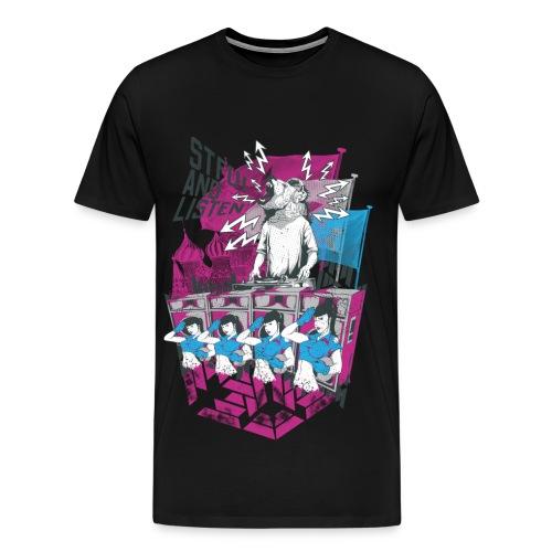 STFU and Listen - Men's Premium T-Shirt