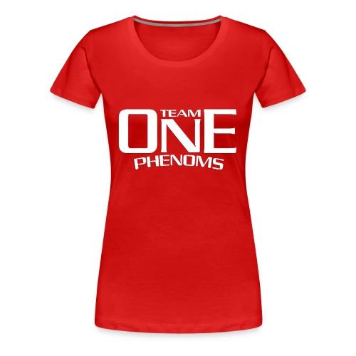 SUPPORT WHITE - Women's Premium T-Shirt