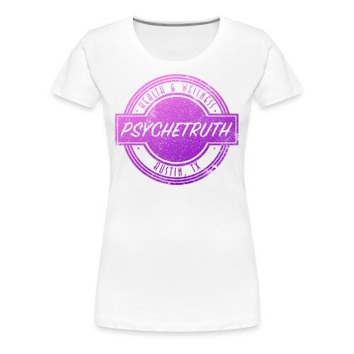 Pink/Purple Psychetruth Logo Women's Shirt - Women's Premium T-Shirt
