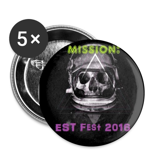 Mission EST Fest button 5 pack - Small Buttons