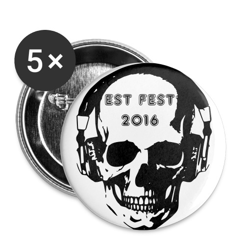 EST Fest button 5 pack - Small Buttons