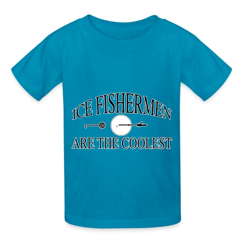 Ice fishermen are the coolest. - Kids' T-Shirt