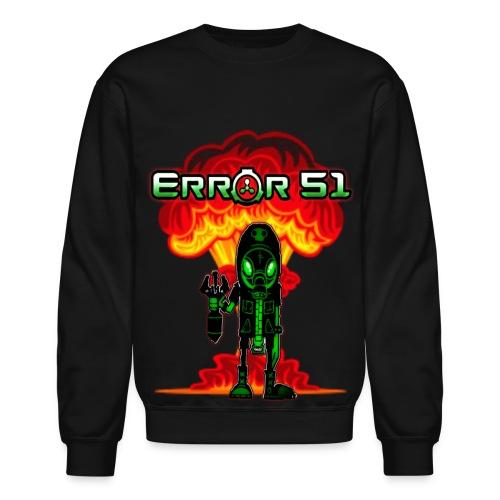 Error 51 Bomber Man Sweatshirt - Crewneck Sweatshirt