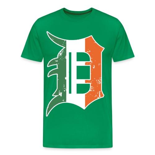 Men's Detroit Old English D- Green - Men's Premium T-Shirt