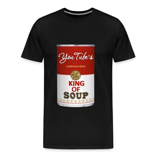 King of Soup Logo - Men's Premium T-Shirt