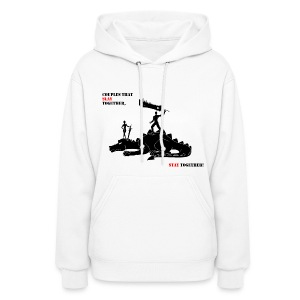 Couples that Slay Together Hoodie womens wht - Women's Hoodie