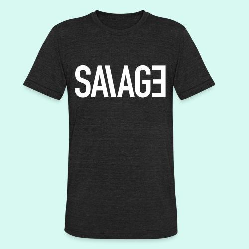 UNI-SEX SAVAGE - Unisex Tri-Blend T-Shirt