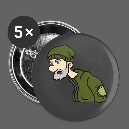 ahobodudes Pin of Honor - Buttons small 1'' (5-pack)