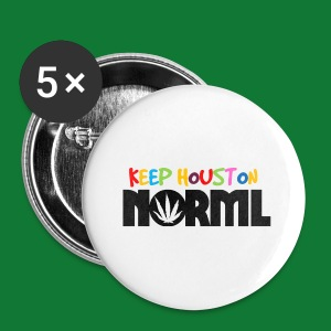 Multi color Keep Houston NORML Buttons - Large Buttons