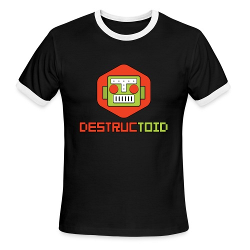 Good Ole Destructoid - Men's Ringer T-Shirt