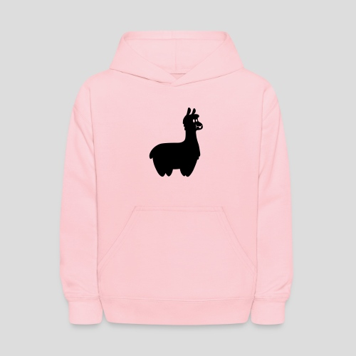 Alpaca Hoodie (Black) - Kids' Hoodie