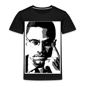 malcolm X - Toddler Premium T-Shirt