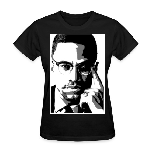 malcolm X - Women's T-Shirt