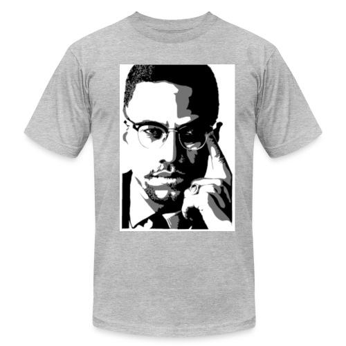 Malcolm X - Men's Fine Jersey T-Shirt