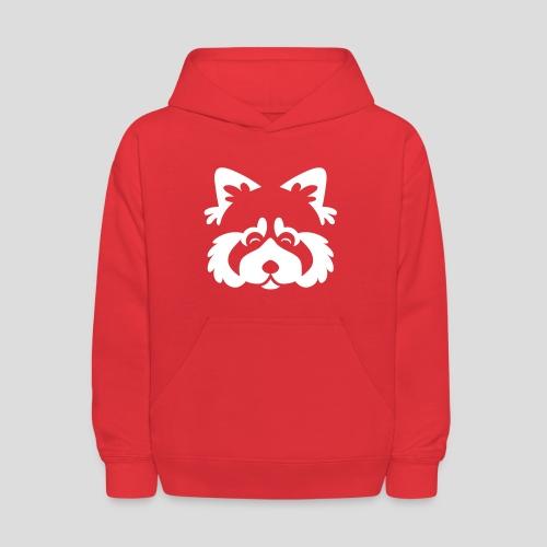 Red Panda Face Hoodie - Kids' Hoodie