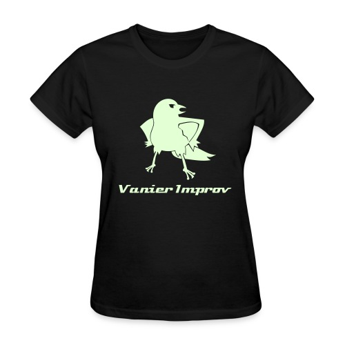 Glow in the Dark Towhee Tee (Women's Fit) - Women's T-Shirt