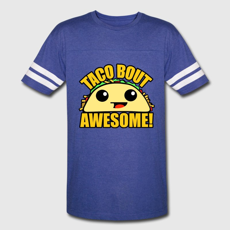 Taco Bout Awesome T-Shirts - Vintage Sport T-Shirt