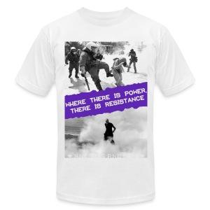 Power and Resistance Shirt unisex - Men's Fine Jersey T-Shirt