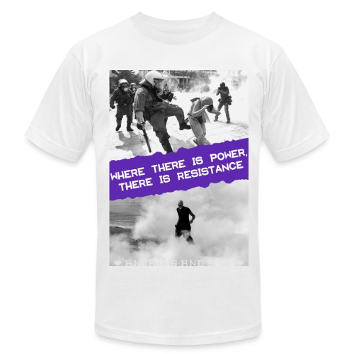 Power and Resistance Shirt unisex - Men's Fine Jersey T-Shirt