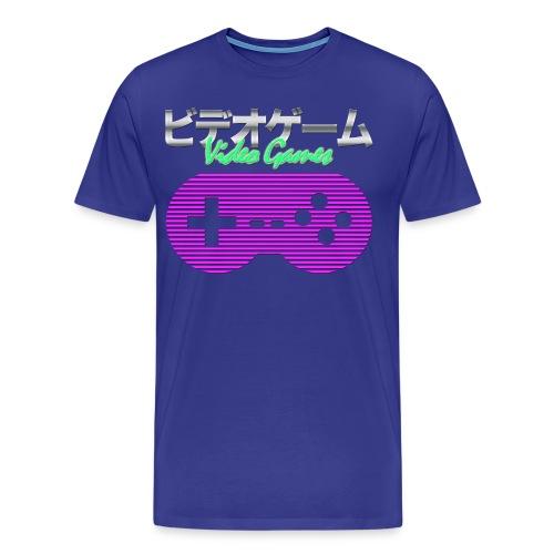 Synthwave Gaming Shirt - Men's Premium T-Shirt