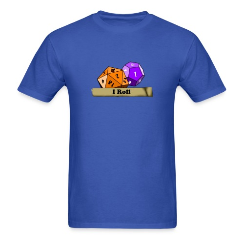 I Roll Dice shirt For Men - Men's T-Shirt