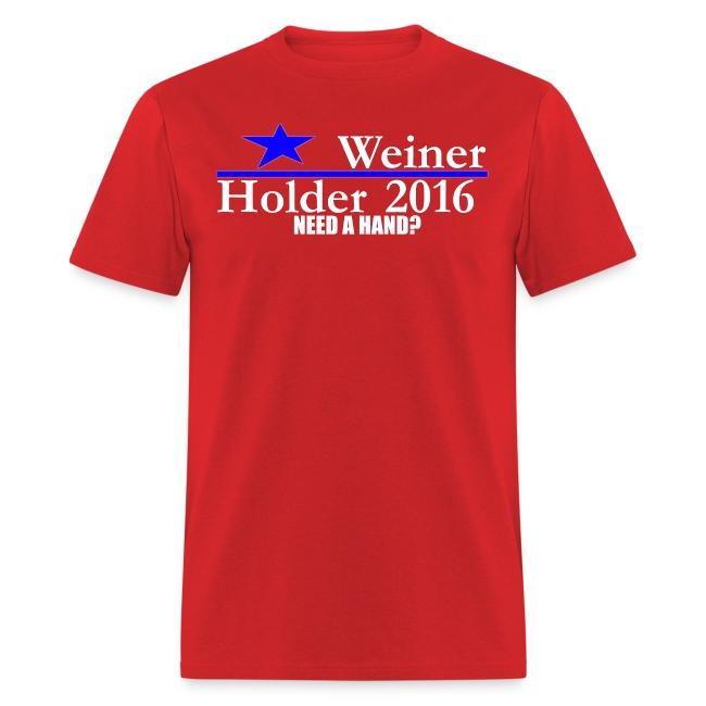 Weiner/Holder 2016 in Red